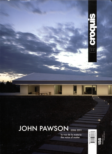El croquis N. 158: John Pawson 2006-2011: the voice of matter