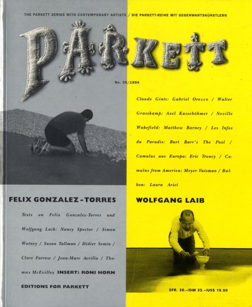 Parkett #39 - 1994