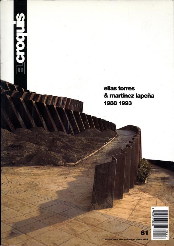 El croquis N. 61: Elias Torres & Martinez Lapena 1988-1993