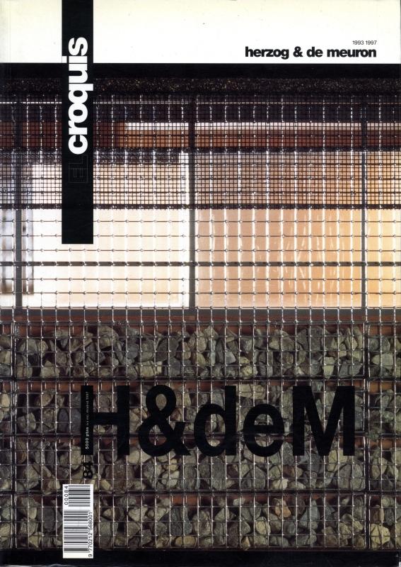 El croquis N. 84: Herzog & De Meuron 1993-1997