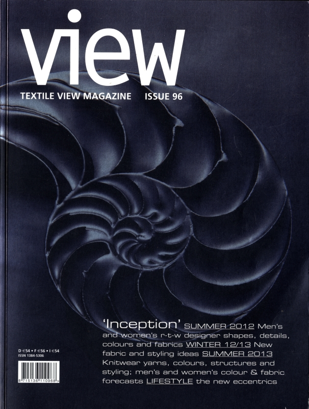 Textile View magazine Winter 2011 #96 Inception