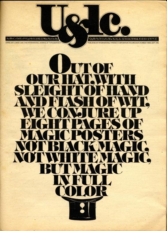 U&lc. Sept. 1981, Vol.8-No.3