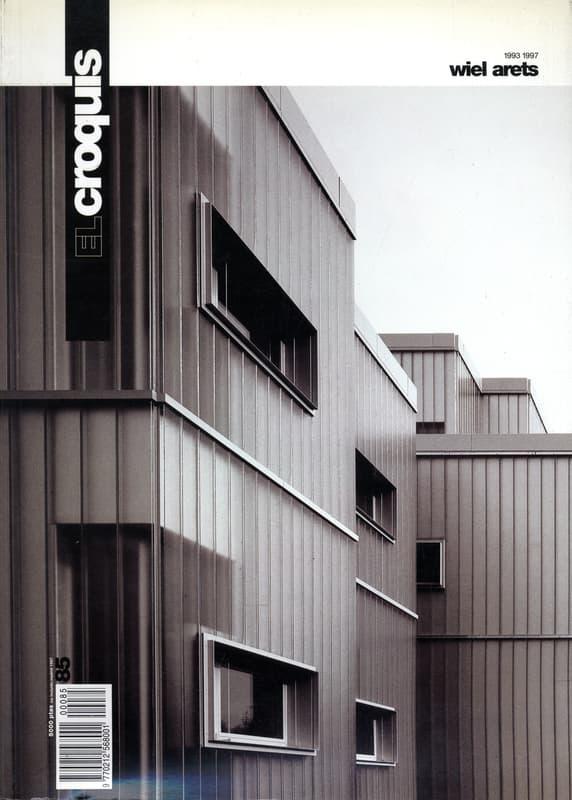 El Croquis N. 85: Wiel Arets 1993-1997