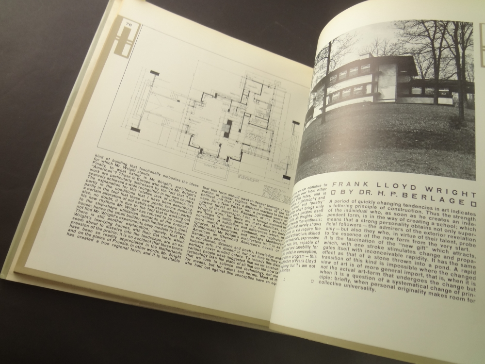 The Work of Frank Lloyd Wright The Wendingen Edition2