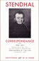 Stendhal Correspondance tome 1 - 3, 3冊