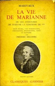 La vie de Marianne: ou les aventures de Madame la Comtesse de ***
