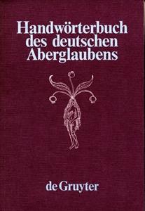 Handwörterbuch des deutschen Aberglaubens