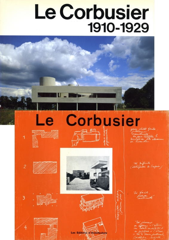 8 le corbusier oeuvre complete the complete architectural works. Black Bedroom Furniture Sets. Home Design Ideas