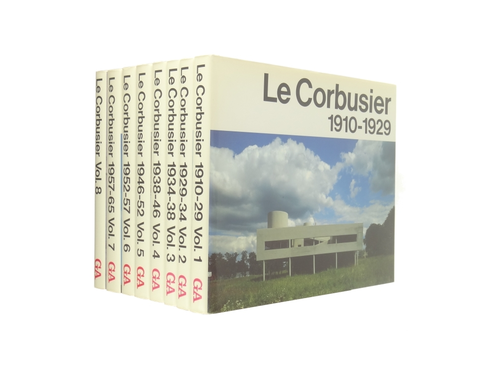 le corbusier uvre compl te the complete architectural works 8. Black Bedroom Furniture Sets. Home Design Ideas