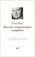 Stendhal Œuvres romanesques complètes, tome 2