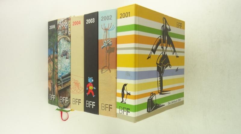 Das Jahrbuch 2001-2006 6冊1