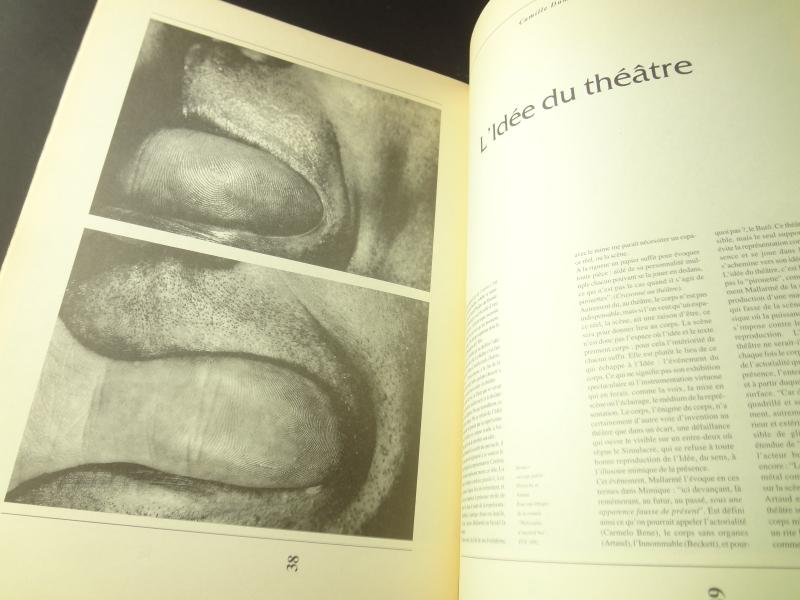 Théâtre de la Bastille revue programme #156