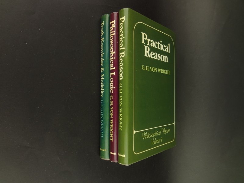 Philosophical Papers 3 vols. - Practical Reason | Philosophical Logic | Truth, Knowledge & Modality1