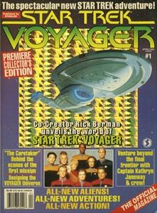 Voyager magazine #1-19 揃い - The Official Star Trek