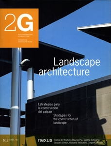 2G: Revista International de Arquitectura #3: Landscape architecture
