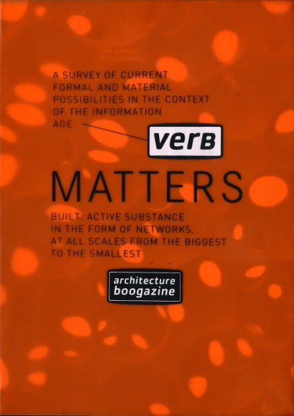 Verb Matters - Architecture Boogazine vol. 2