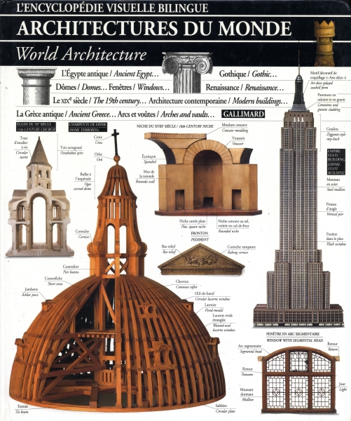 Architectures du monde - L'Encyclopédie visuelle bilingue