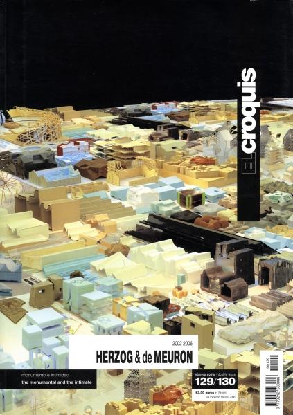 El Croquis N. 129/130: Herzog & de Meuron 2002-2006
