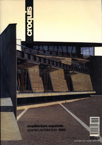 El Croquis N. 62/63: Spanish Architecture 1993