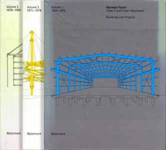 Norman Foster: Buildings and Projects 3冊セット