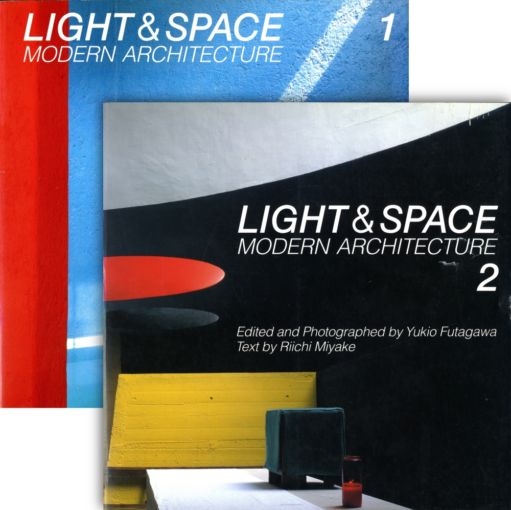光の空間 第1巻第2巻 2冊 Light & Space Modern Architecture 1, 2
