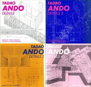 安藤忠雄ディテール集 TADAO ANDO DETAILS 全4巻 揃い セット