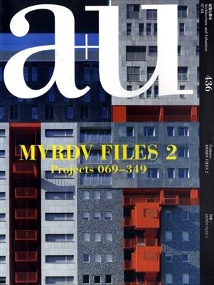 建築と都市 a+u #436 2007年1月号 MVDRV FILES 2: Projects 069-329