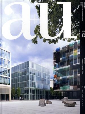 建築と都市 a+u #482 2010年11月号 ノヴァルティス・キャンパス2010