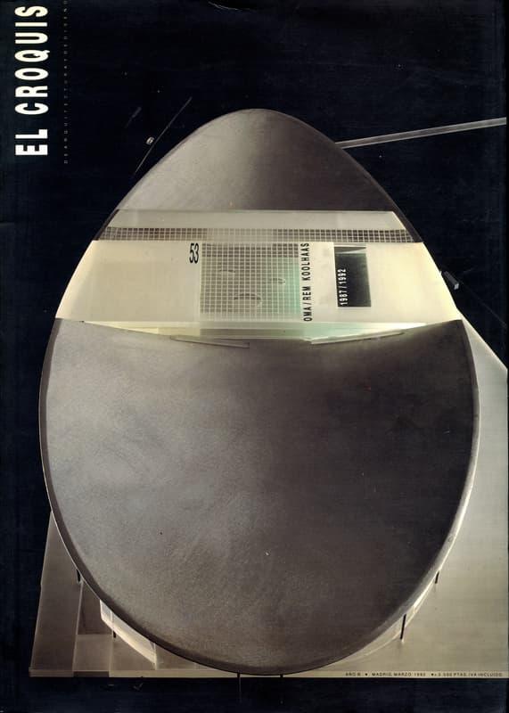 El croquis N. 53: OMA / Rem Koolhaas 1987-1992