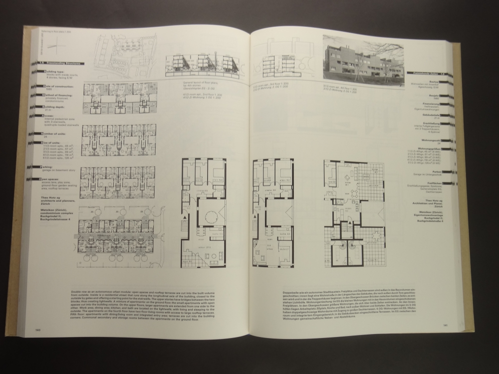 Grundrissatlas Wohnungsbau / Floor Plan Atlas Housing1