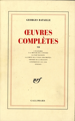 OEuvres completes 7
