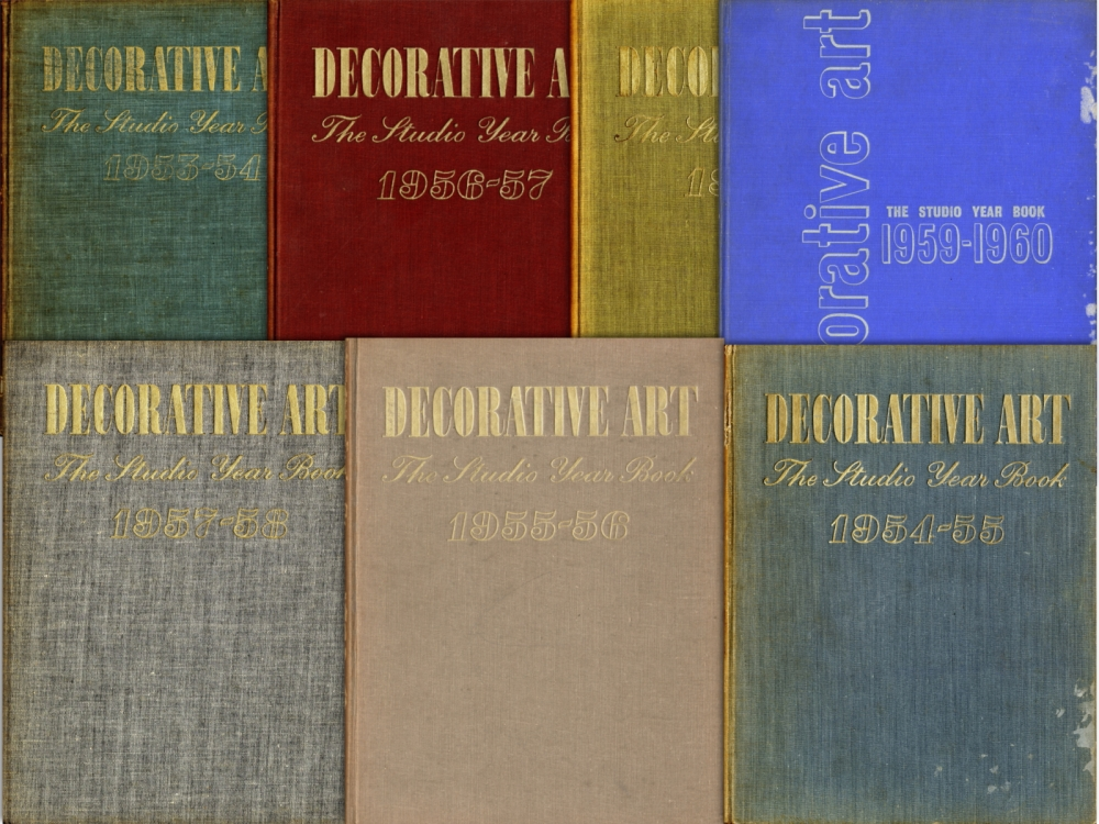The Studio Year Book of Decorative Art目次