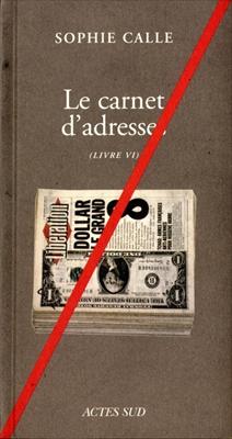 Le carnet d'Adresses - Livre VI