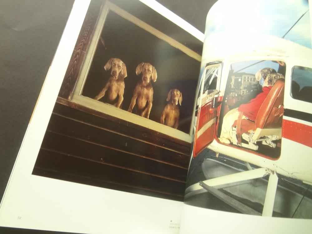ウィリアム・ウェグマン展カタログ4