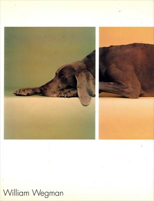 ウィリアム・ウェグマン展カタログ