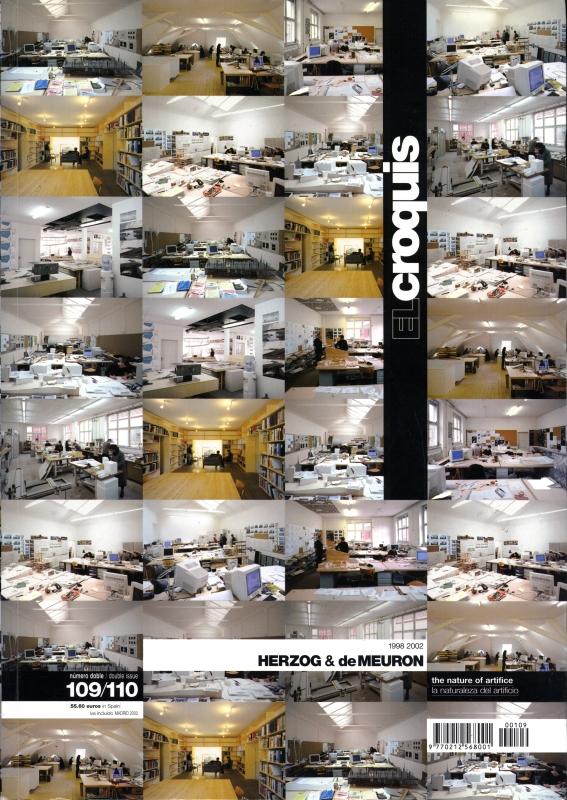 El croquis N. 109/110: Herzog & De Meuron 1998-2002
