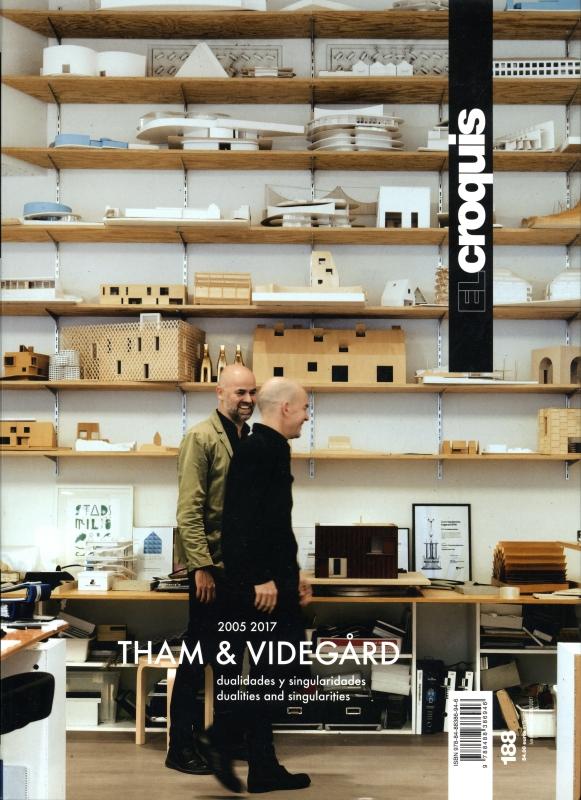 El Croquis N. 188: Tham & Videgard 2005-2017