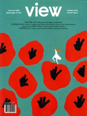 Textile View magazine Spring 2015 #109 Poppy Field