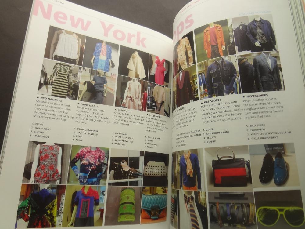 Textile View magazine Spring 2014 #105 Flora1