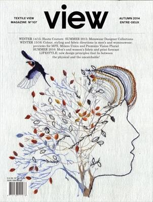 Textile View magazine Autumn 2014 #107 Entre-deux
