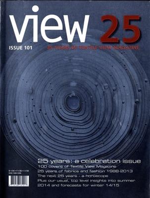 Textile View magazine Spring 2013 #101 Evolve