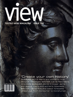 Textile View magazine Winter 2013 #104 Create Your Own History