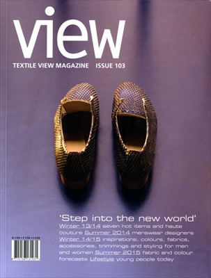 Textile View magazine Autumn 2013 #103 Step into the New World