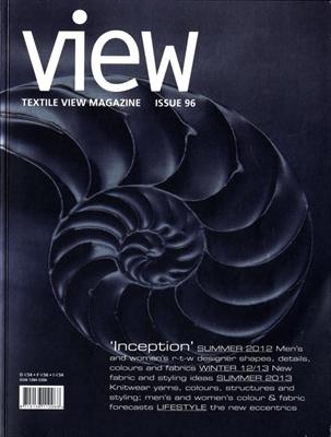 Textile View magazine Winter 2011 #96 Inception