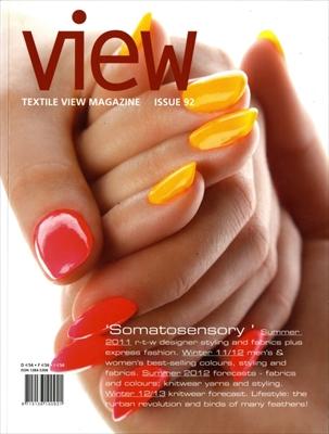 Textile View magazine Winter 2010 #92 Somatosensory