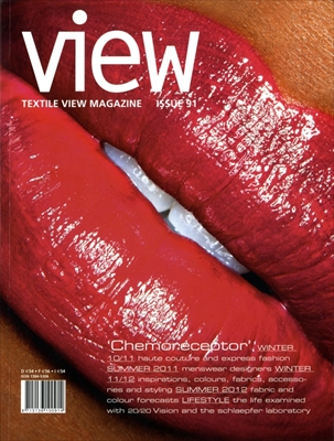 Textile View magazine Autumn 2010 #91 Chemoreceptor