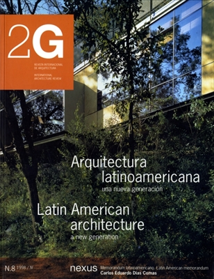 2G: Revista International de Arquitectura #8: Latin American Architecture