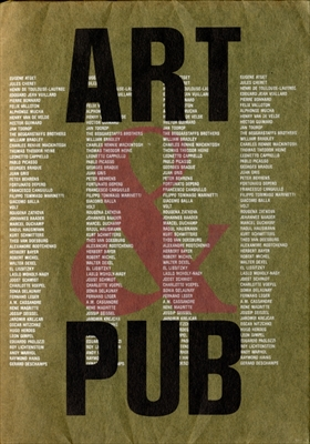 「芸術と広告」展図録