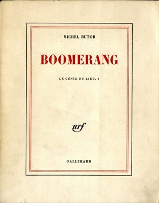 Boomerang - Le Genie du lieu, tome 3