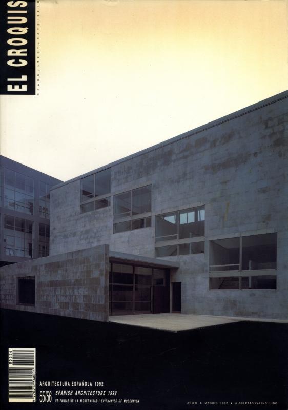 El croquis N. 55/56: Arquitectura Espanola 1992: Epiphanies of Modernism